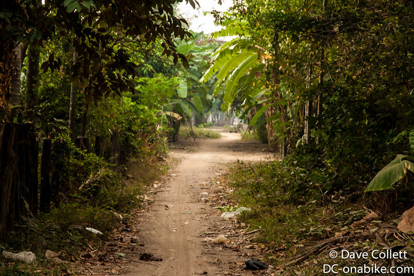 Little paths leading out of Kratie
