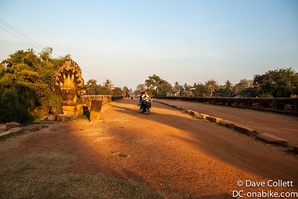 Old Naga bridge in Kampong Kdei..