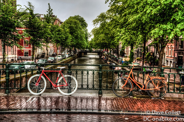 Bikes In Amsterdam Canals Amsterdam Canal HDR