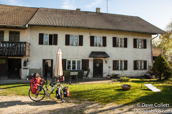 Big, nice old house I stayed in with a great German family